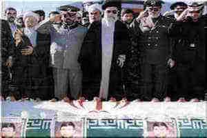 خاکسپاری شهید صیاد شیرازی