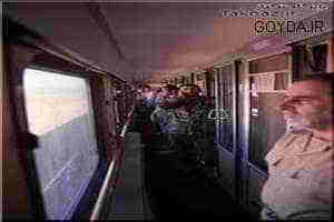اذان صیاد شیرازی در قطار