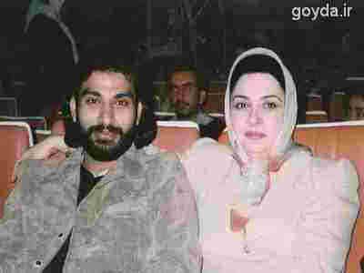 ناصرعبداللهی و همسرش